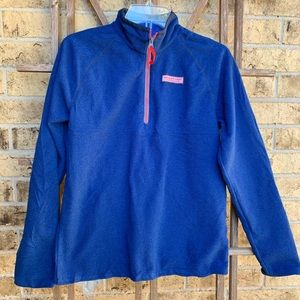 Vineyard Vines Royal blue 1/4 zip pullover sweater